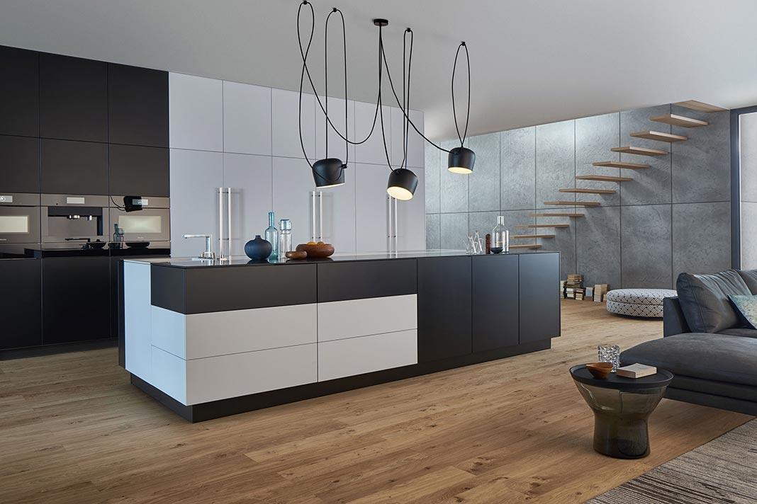 Neue Küchenkonzepte mit Farben von Le Corbusier