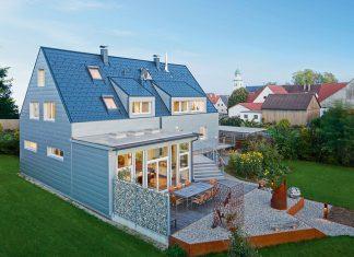 Aluminium für Dach und Fassade