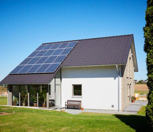 Die Hybrid-Außenwand als Energiekonzept.