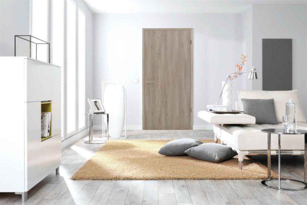 Eine interessante Alternative zur Echtholztür bietet das Türmodell 43 von Kilsgaard.