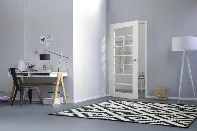 Eine große Bandbreite an Türblättern mit Linienfräsungen und mit Verglasungen, die beliebig kombiniert werden können.