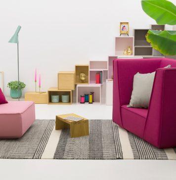 Sessel aus Sofamodulen