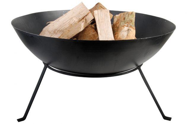 moderner Feuerkorb