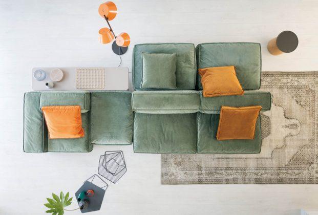 Designer Sofa aus Modulen