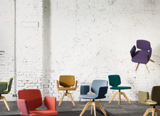 Die aye Stühle in verschiedenen Farben