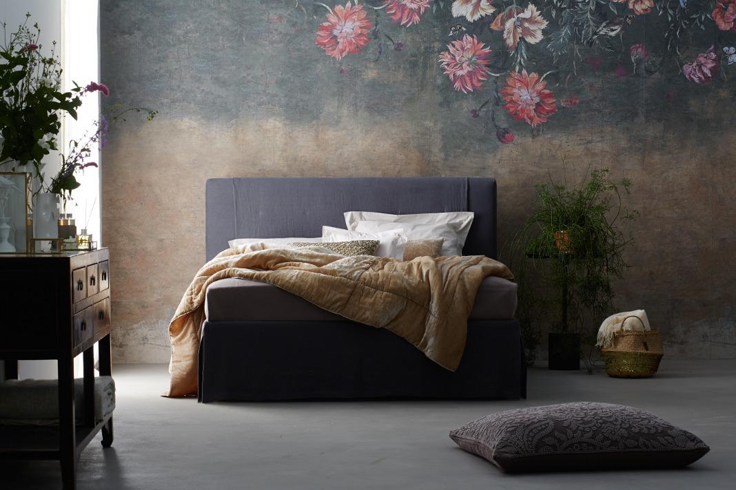 gem tliches bett mit modernem design. Black Bedroom Furniture Sets. Home Design Ideas