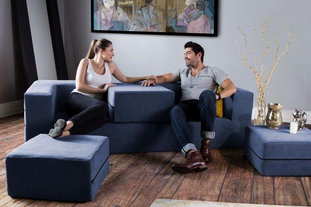 Designbett oder Sofa?