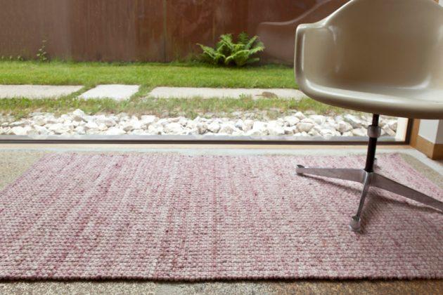 Teppich aus Schafwolle