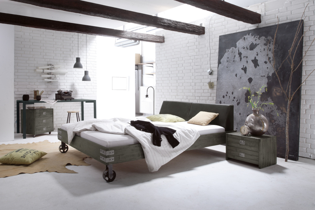 Design-Bett – komfortabel und extravagant schlafen