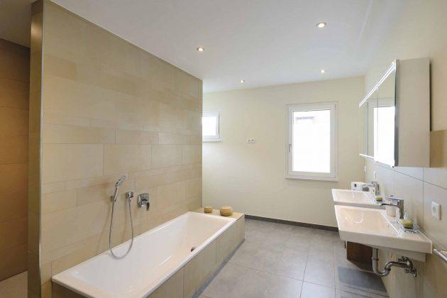 Badezimmer im Obergeschoss Kundenhaus Krüger