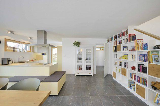 Ess-/Kochbereich im Kundenhaus Krüger