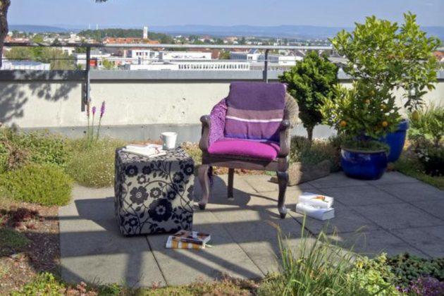 Dachgarten mit Terrasse