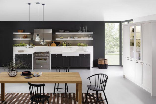 open kitchen für kleine Räume