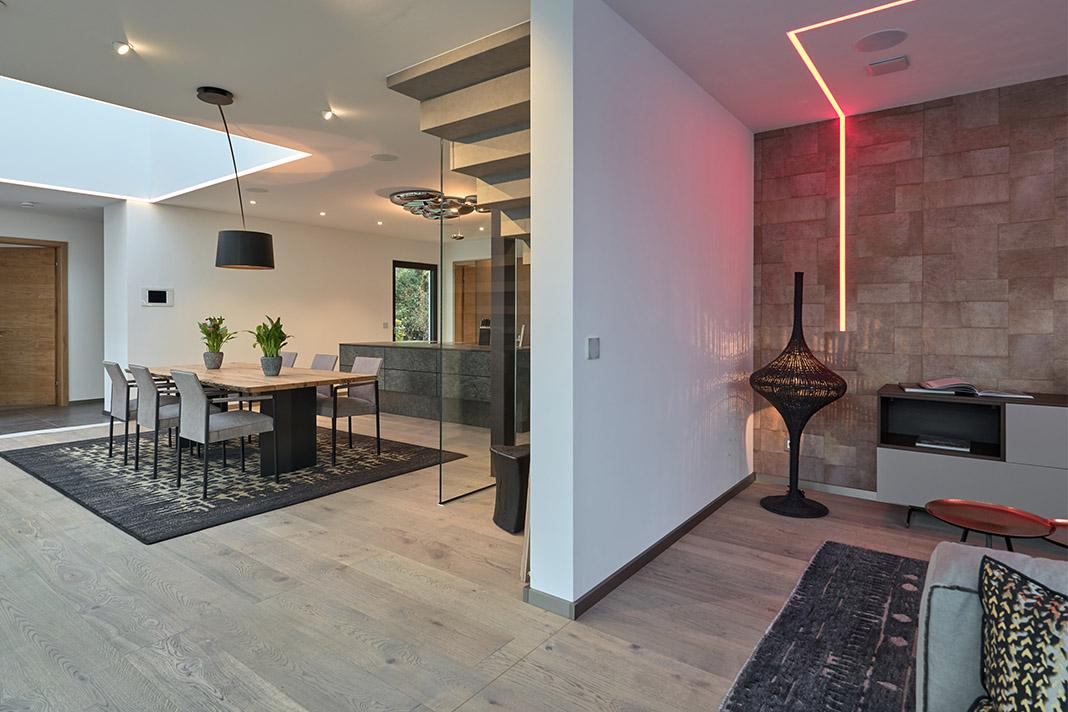 Familienleben 40 Neues Musterhaus Core Von Luxhaus Livvide