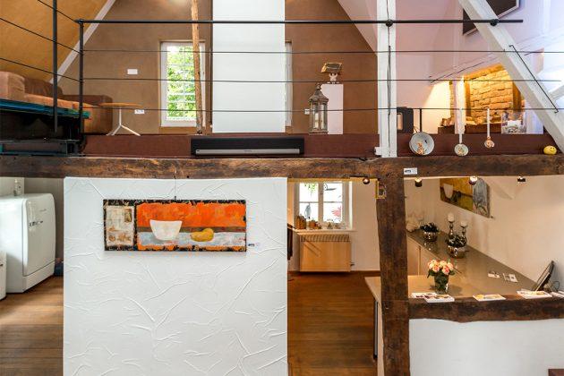 offene Galerie im Architekturbüro Foto: ISOTEC