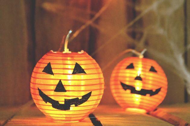 Kürbis Lampion für Halloween