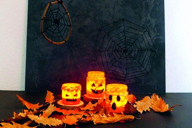 Halloween Dekoration zum selber Basteln