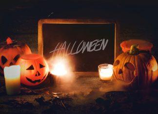 gruselige Halloween Dekoration