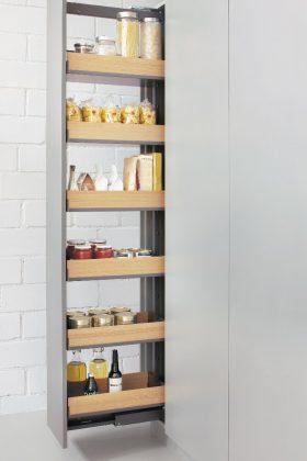 ausziehbarer Küchenschrank