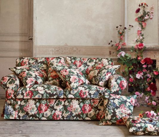 Sofa im Landhausstil