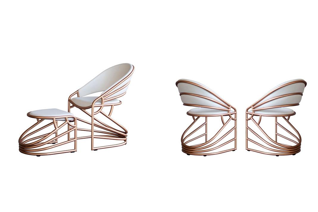 Stuhl aus Holz von Sophia Slingerland