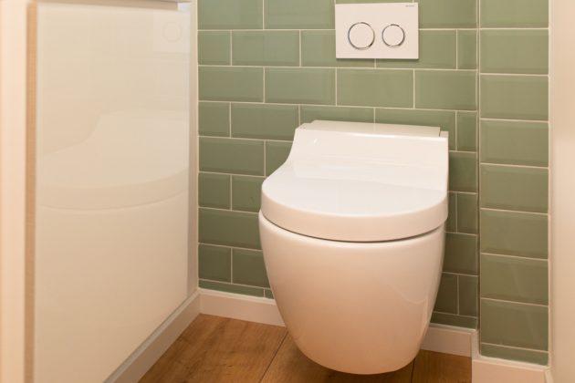 Dusch-WC für ideale Hygiene im Familienbad