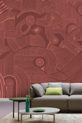 Pantone Farbe 2019 setzt im Wohnzimmer moderne Akzente