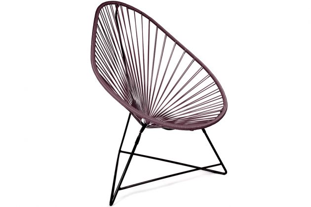 Outdoor Acapulco Chair Lila Stuhl