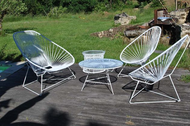 Outdoor Acapulco Chairs Set