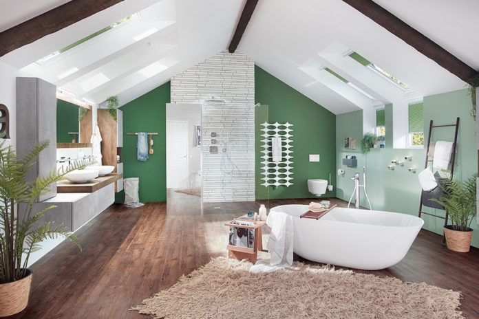 Dachausbau: Neues Bad unterm Dach. » LIVVI.DE