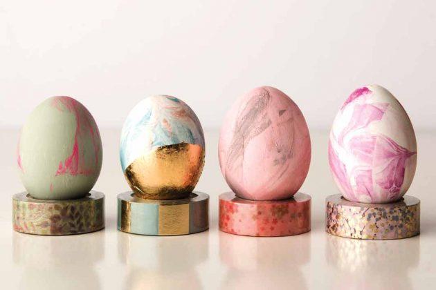 Bunte Ostereier dürfen an Ostern nicht fehlen.