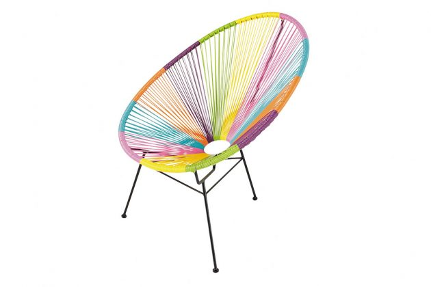 Acapulco Chair Regenbogen-Optik