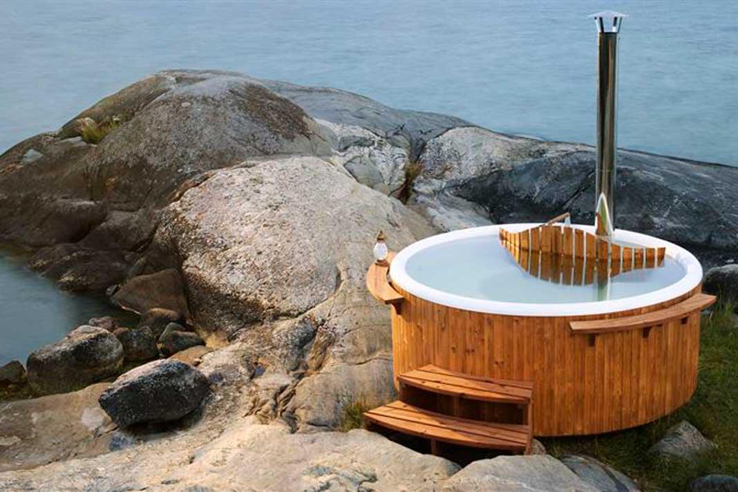 """Hot Tub """"Panel"""" mit Ablagen"""