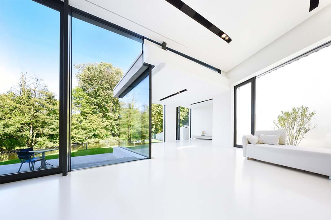 Einfamilienhaus puristisch Interior
