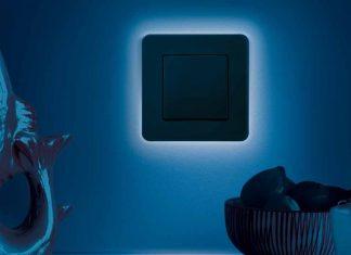 Lichtschalter mit LEDs für besonderes Design