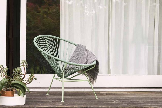 Acapulco Chair Outdoor Decke
