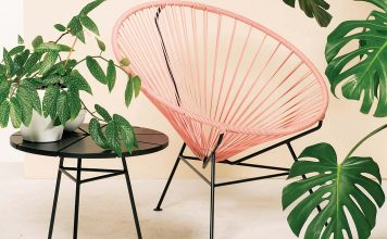 Acapulco Chair Dusty Pink