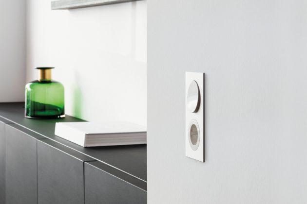 Flacher Lichtschalter - Becker R.8