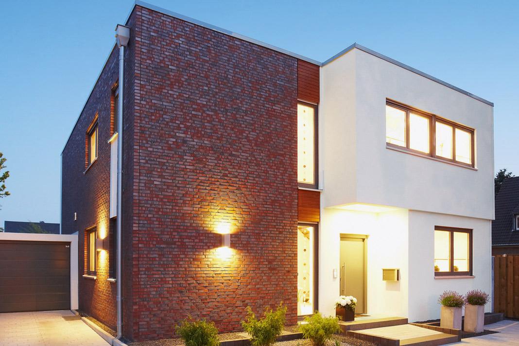 Hier wurde der Bauhaus Stil zum Vorbild genommen - Modell Lido