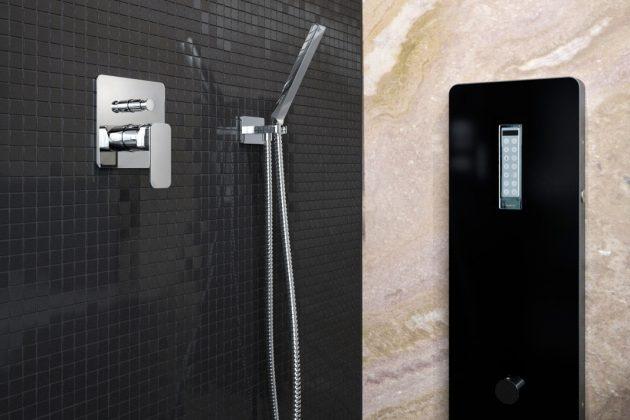 Dampfbad im Repabad-Badezimmer.