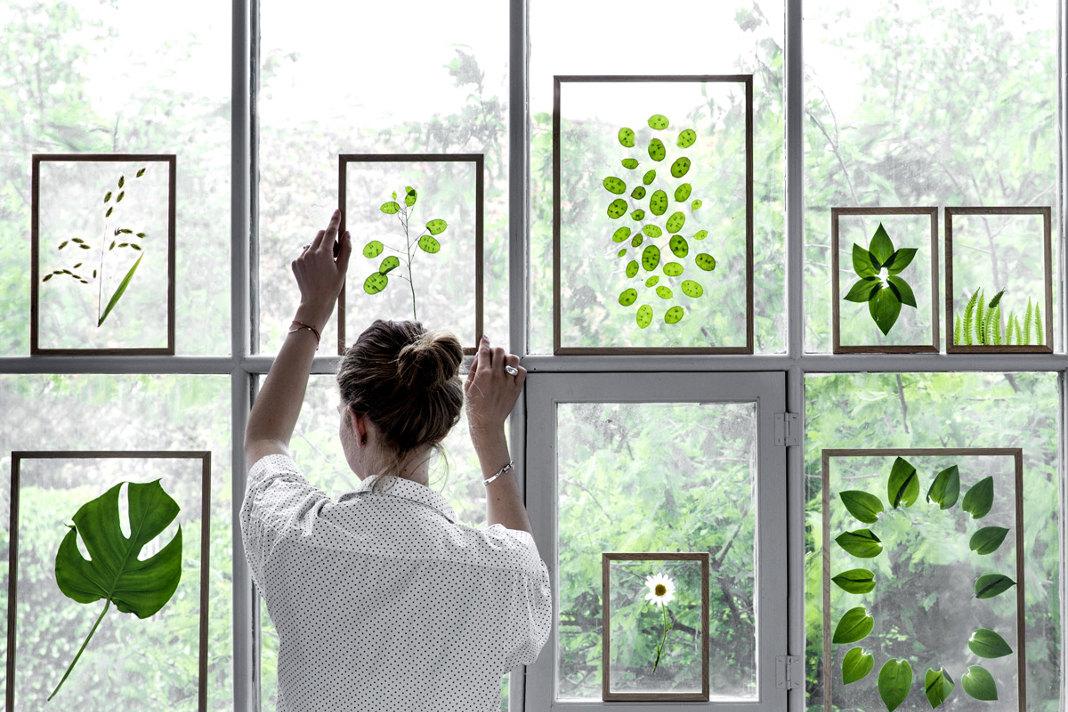 Holzbilderrahmen FRAME aus Holz und Glas - Wohnaccessoires aus Holz