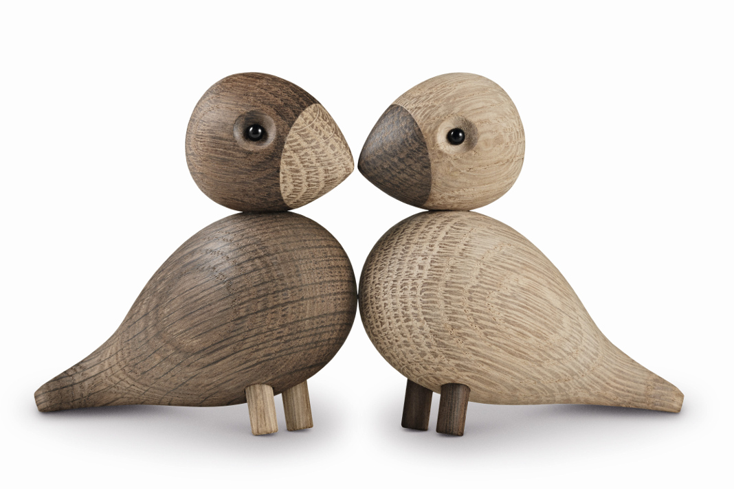 LOVEBIRDS vom Designer Kay Bojesen