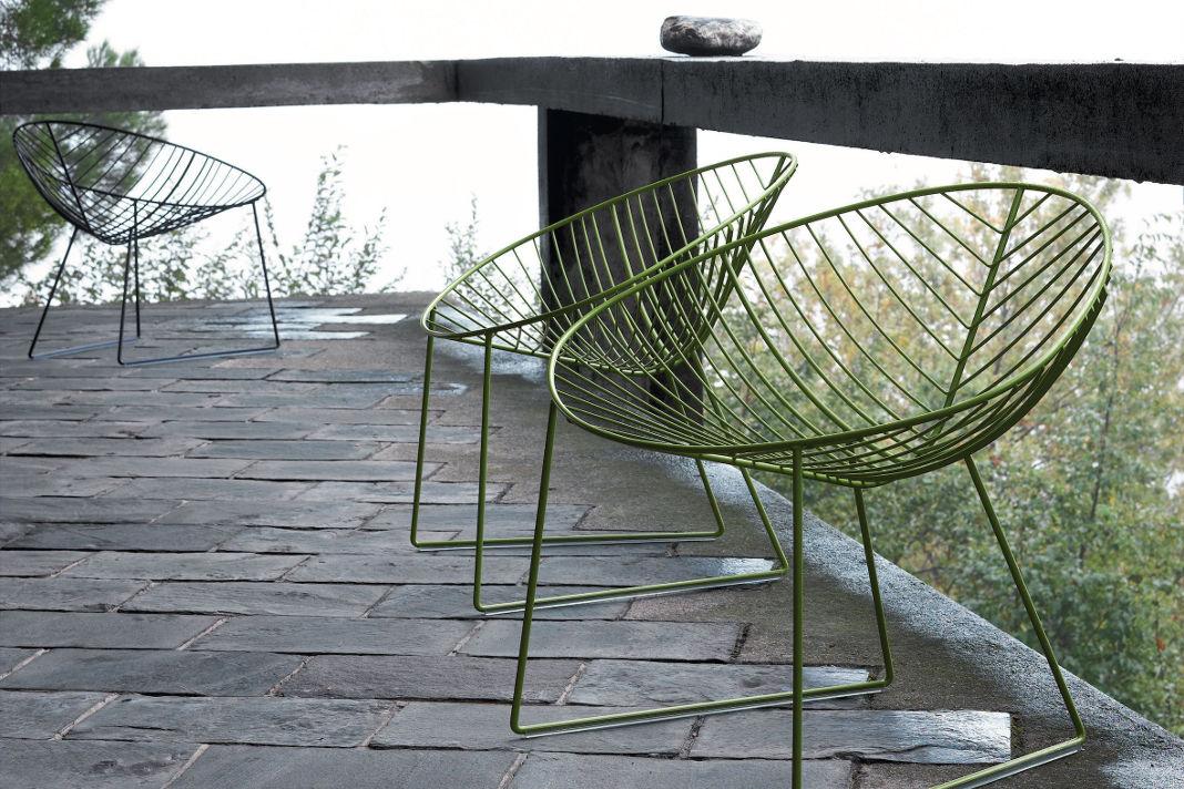 Sitzmöbel in Grün aus der Kollektion Leaf