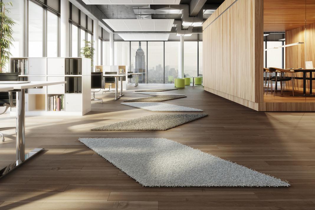 Großflächige moderne Teppichformen - Handelsagentur Becker/ Traumteppich.com
