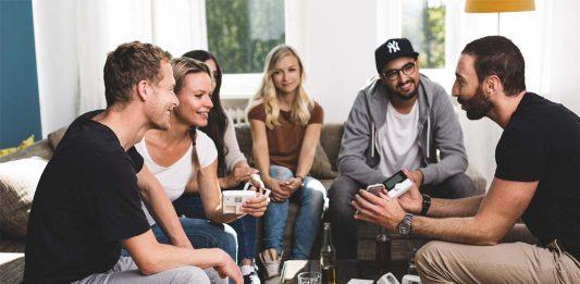 Smart Home Einsteiger Party Zuhause
