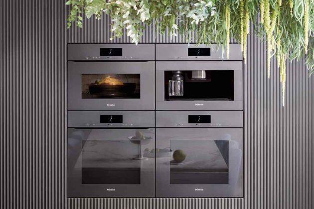 Moderne Küchengeräte der Generation 7000 von Miele für smarte Küchen