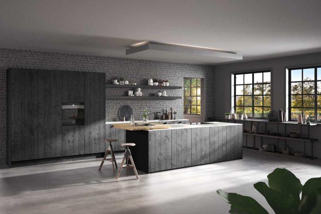 Küchentrends 2019: Nachhaltige Küche in der Trendfarbe Schwarz