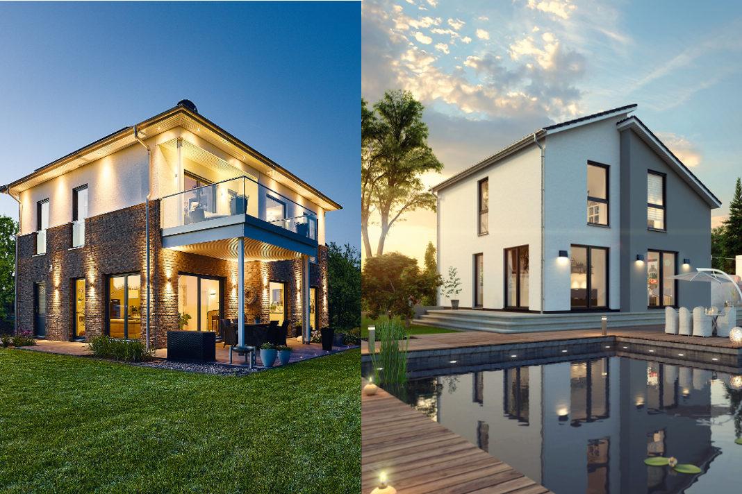 Das individuelle Fertighaus kann schlüsselfertig oder als Ausbauhaus gewählt werden - GUSSEK HAUS/ProHaus