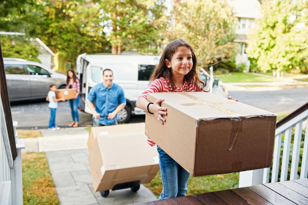 Im schlüsselfertigen Einfamilienhaus von GUSSEK macht das Einziehen gleich viel mehr Spaß. - GUSSEK HAUS