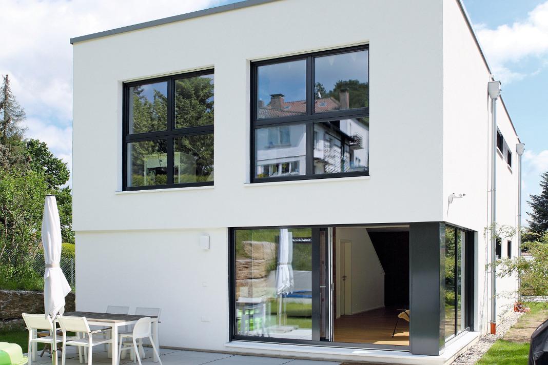 Haus Murano - individuelles Fertighaus im Bauhausstil - GUSSEK HAUS